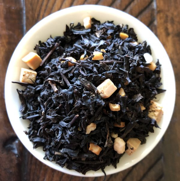 Loose leaf Caramel Pearl Dry Leaves Black Tea