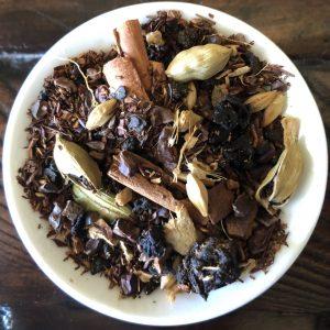 Chai Chocolate leaves