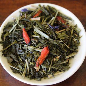 Gojiberry green flavored sencha