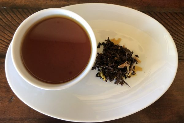 Tropical Sunset black flavored tea