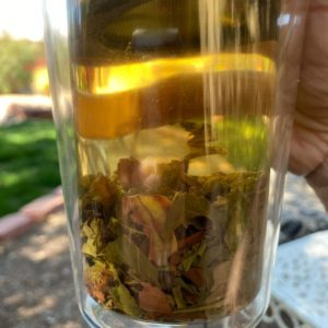 Tea in glass